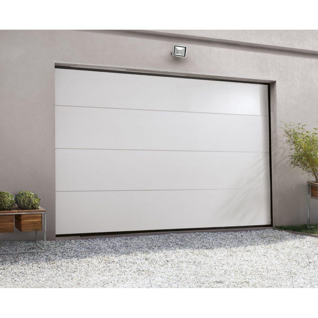 comment installer une porte de garage sectionnelle. Black Bedroom Furniture Sets. Home Design Ideas