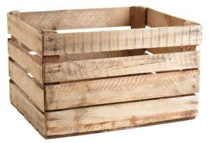 Où trouver des caisses en bois ?