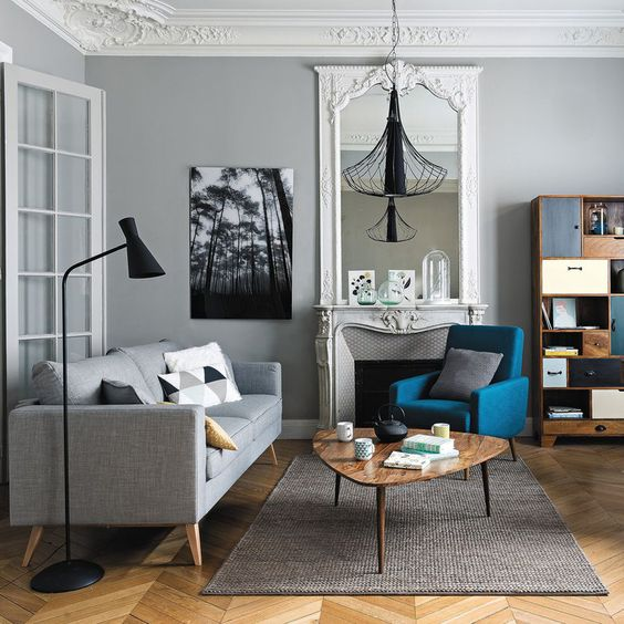 comment bien placer ses meubles du salon 1000 d cos. Black Bedroom Furniture Sets. Home Design Ideas