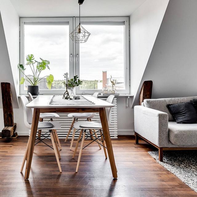 Idées de petit salon sous les toits - 1000 Décos