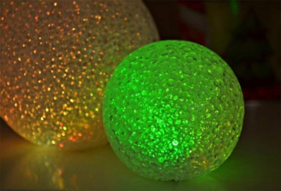 Décoration et ballons pour illuminer