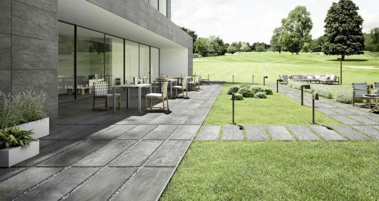 5 façons de décorer son jardin à partir du carrelage en ciment