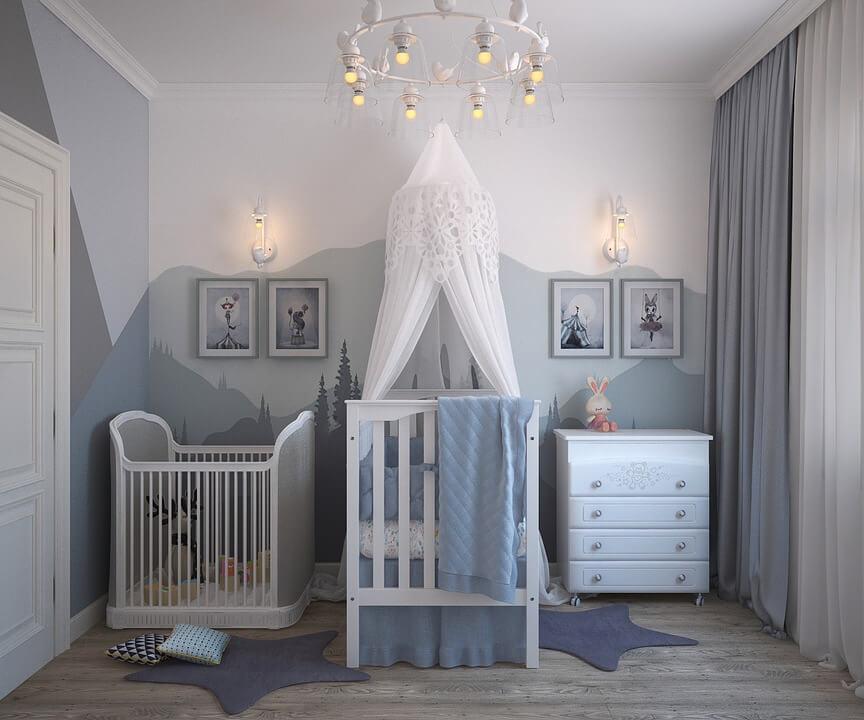 Quels accessoires pour la chambre de bébé ?