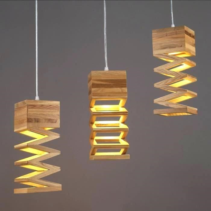 Les différents types de luminaires en bois