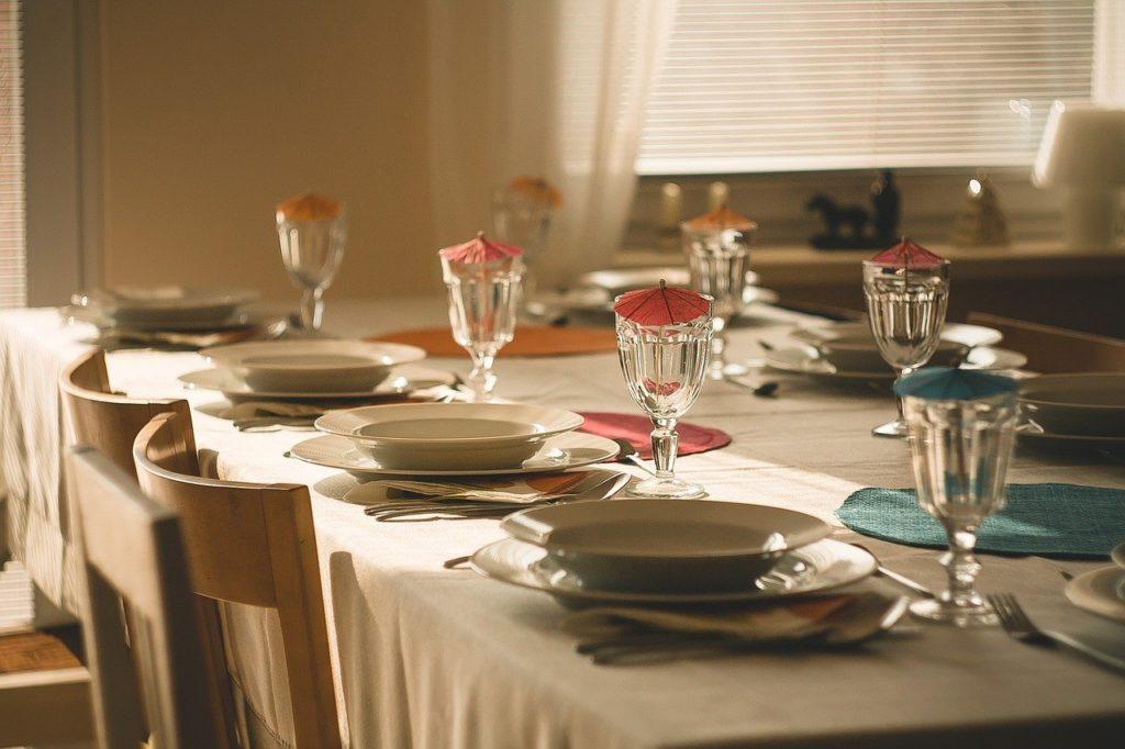 dressage de table