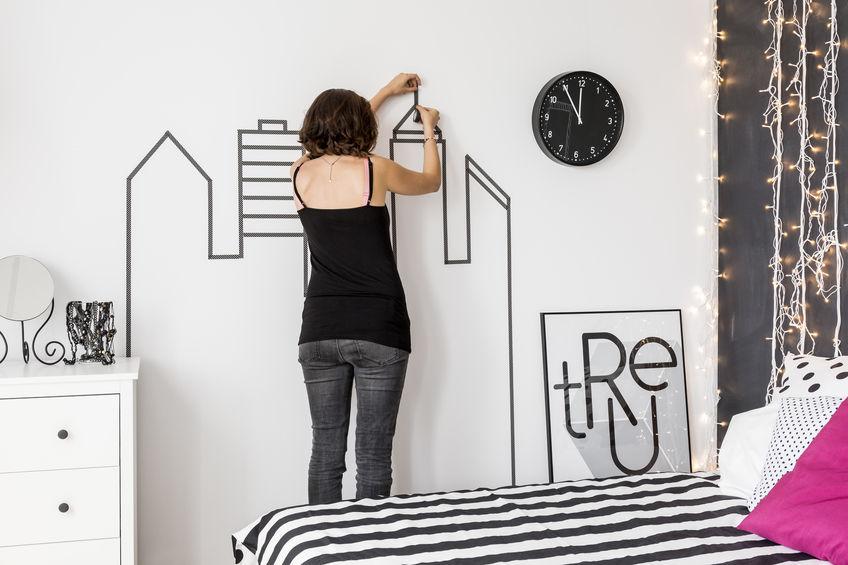 possibilité de décoration murale